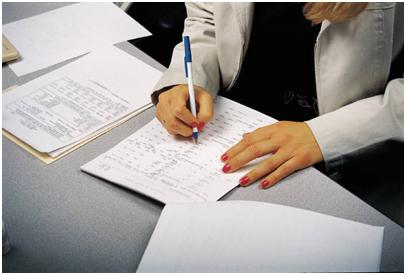 preparing a reume cv job application